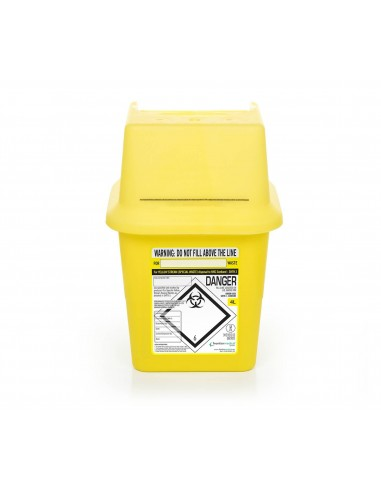 Disposable sharps container 4 l