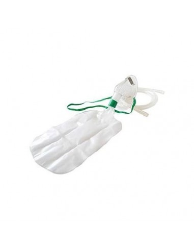 Oxygen mask adult with reservoir bag