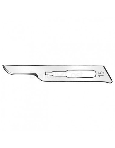 Scalpel blade number 15 in 100 unit box
