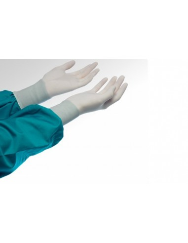 Surgical gloves size 6 powdered latex...