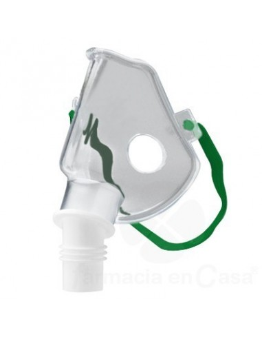 Pediatric oxygen mask with nebulizer