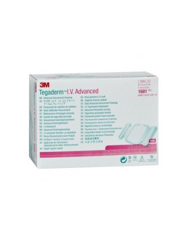 Tegaderm IV advanced ضمادة 7 سم × 8...