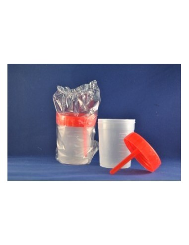 Stool test container packaged unit...