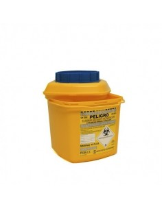 Disposable sharps container...