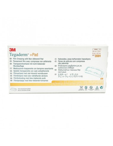 Tegaderm + pad 9 cm x 25 cm 25 unit box