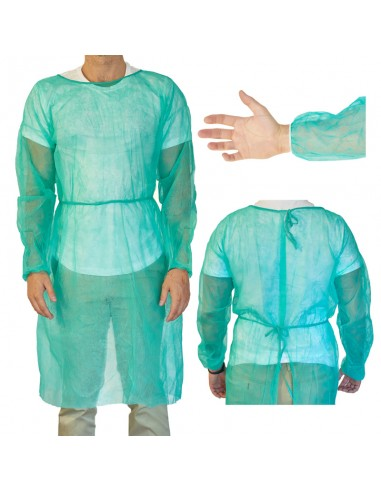 Medical gown patient protection non...